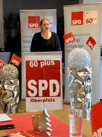 Bezirksvorsitzende der OberpfalzSPD Dr. Carolin Wagner